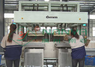 Low Noise Pulp Tray Making Machine / Paper Corner Protector Forming Equipment