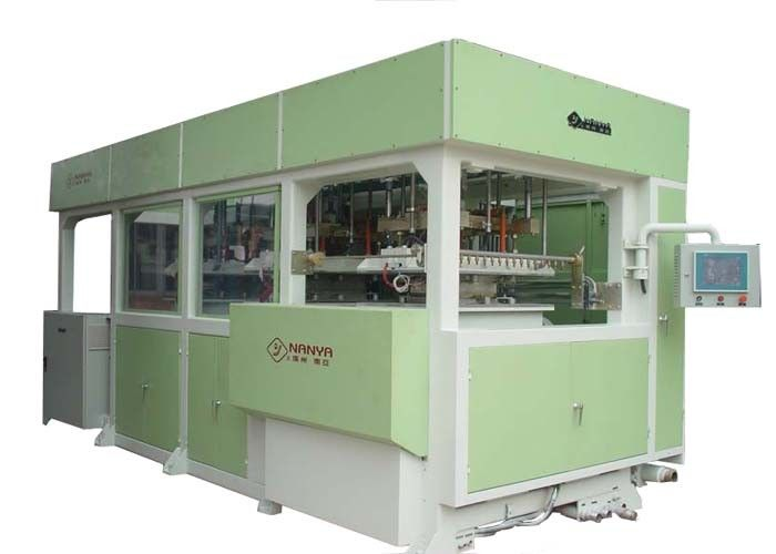Auto Molded Pulp Machine For Top Quality Industry Packages Green
