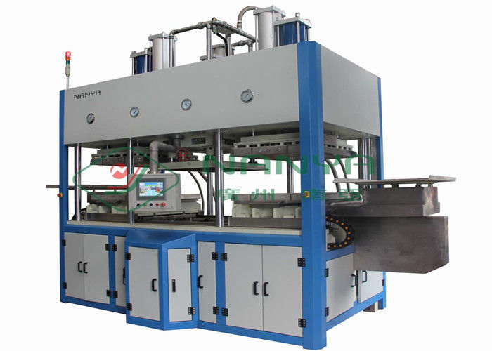 Fully Automatic Tableware Making Machine , Paper Pulp Molding Equipment 3000Pcs / H