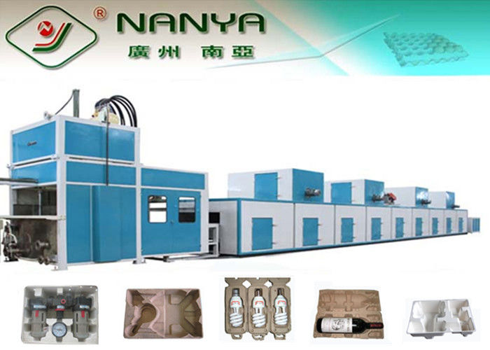 High Capacity Fully Automatic Pulp Molding Equipment 50kg - 500kg Per Hour