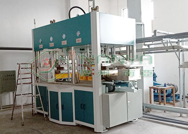 Chine Machine de pulpe moulée par pressing humide biodégradable pour le paquet intérieur d'insertion de vin usine